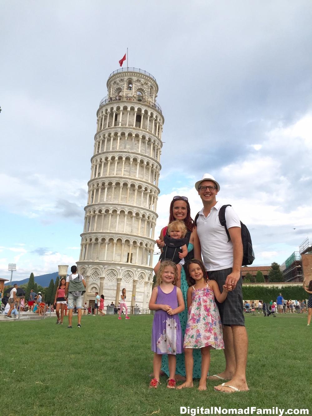 We loved getting to see the Leaning Tower of Pisa in person!
