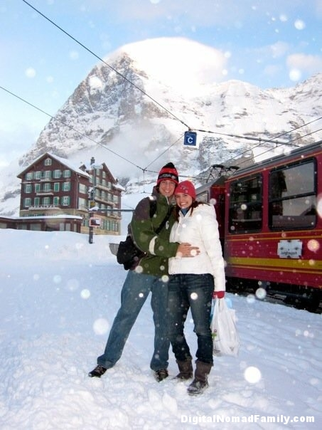 Partway up the mountain, Jungfraujoch, Switzerland