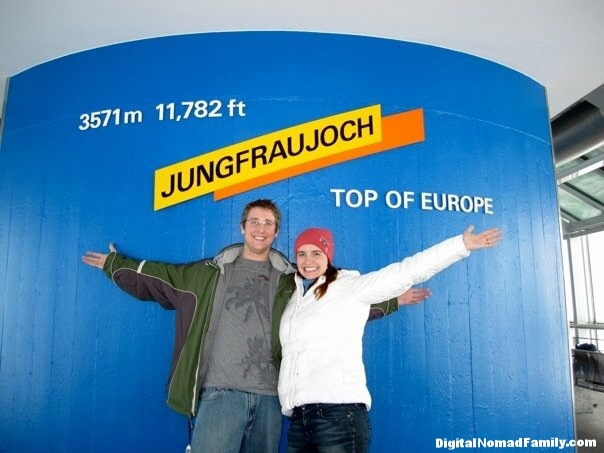 We made it to the top!!