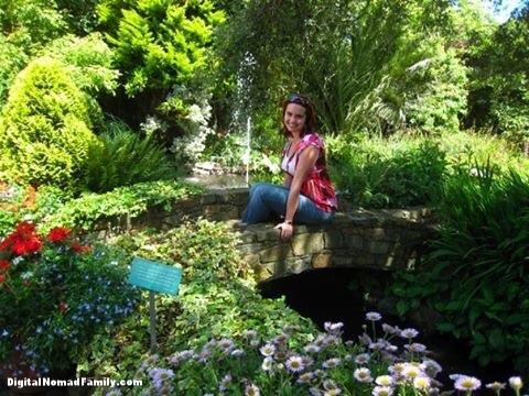 Garden on the island of Guernsey