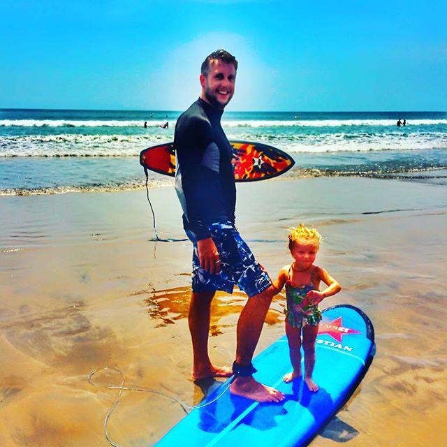 Little Surfer! #bali #surfing