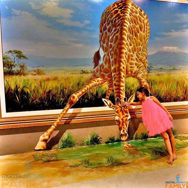 Having fun at the Chiang Mai 3D Art Museum