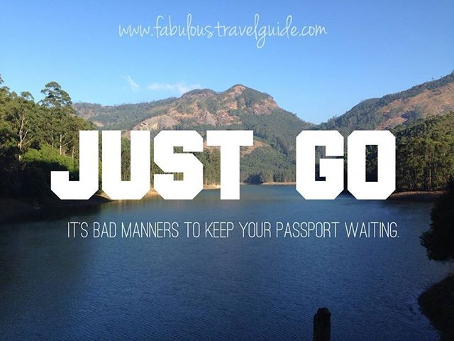 """JUST GO""  Couldn't agree more with @fabuloustravelguide"