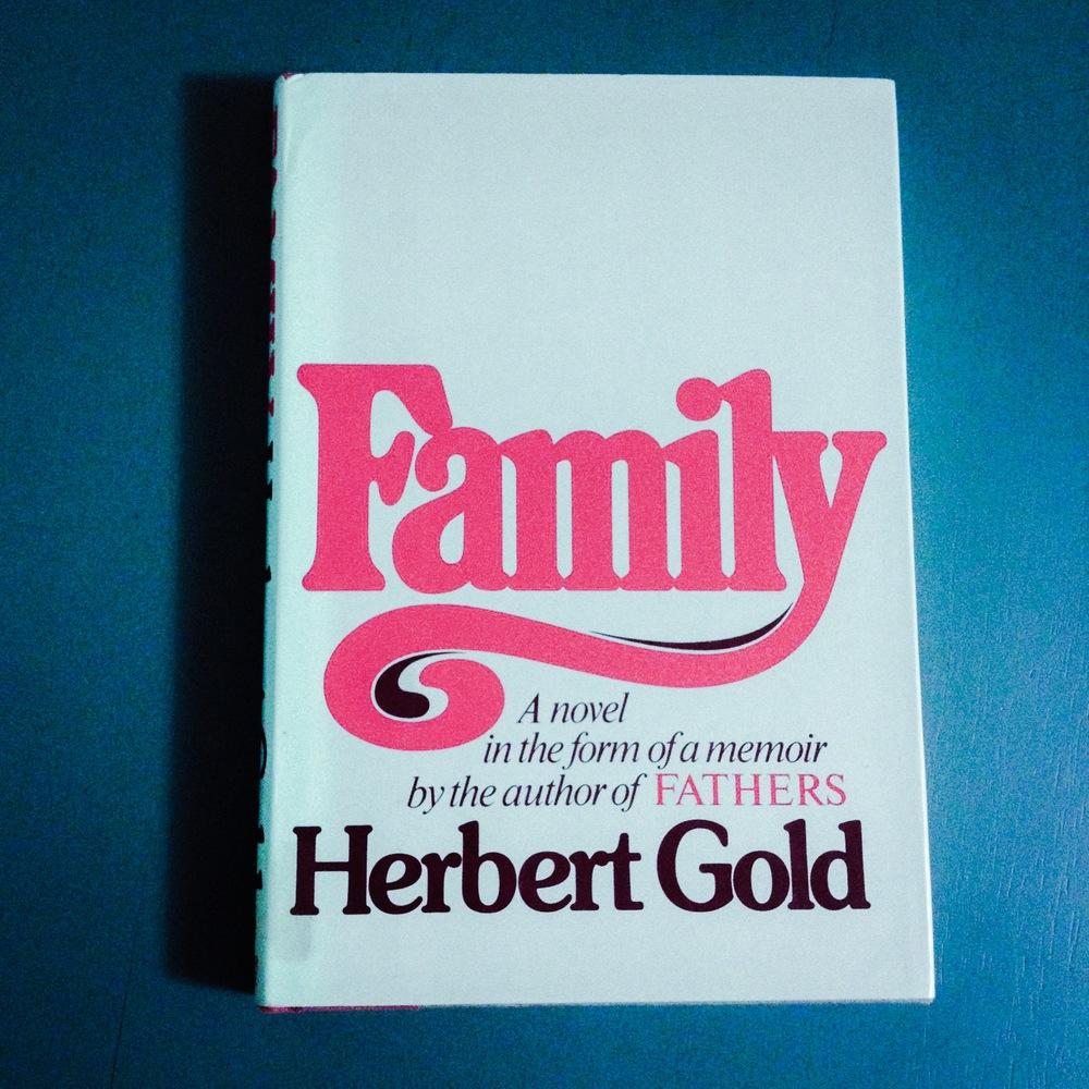Herbert Gold - 1981 - FAMILY - Photo by Diana Phillips.JPG