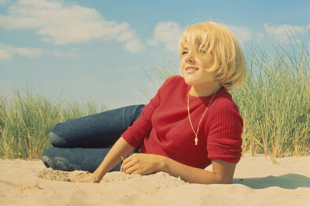 vogue :     Here's a name to add to your list of cool sixties French girls: Sylvie Vartan.        7 reasons why the '60s actress turned singer is today's denim dream girl.        Photo: Corbis