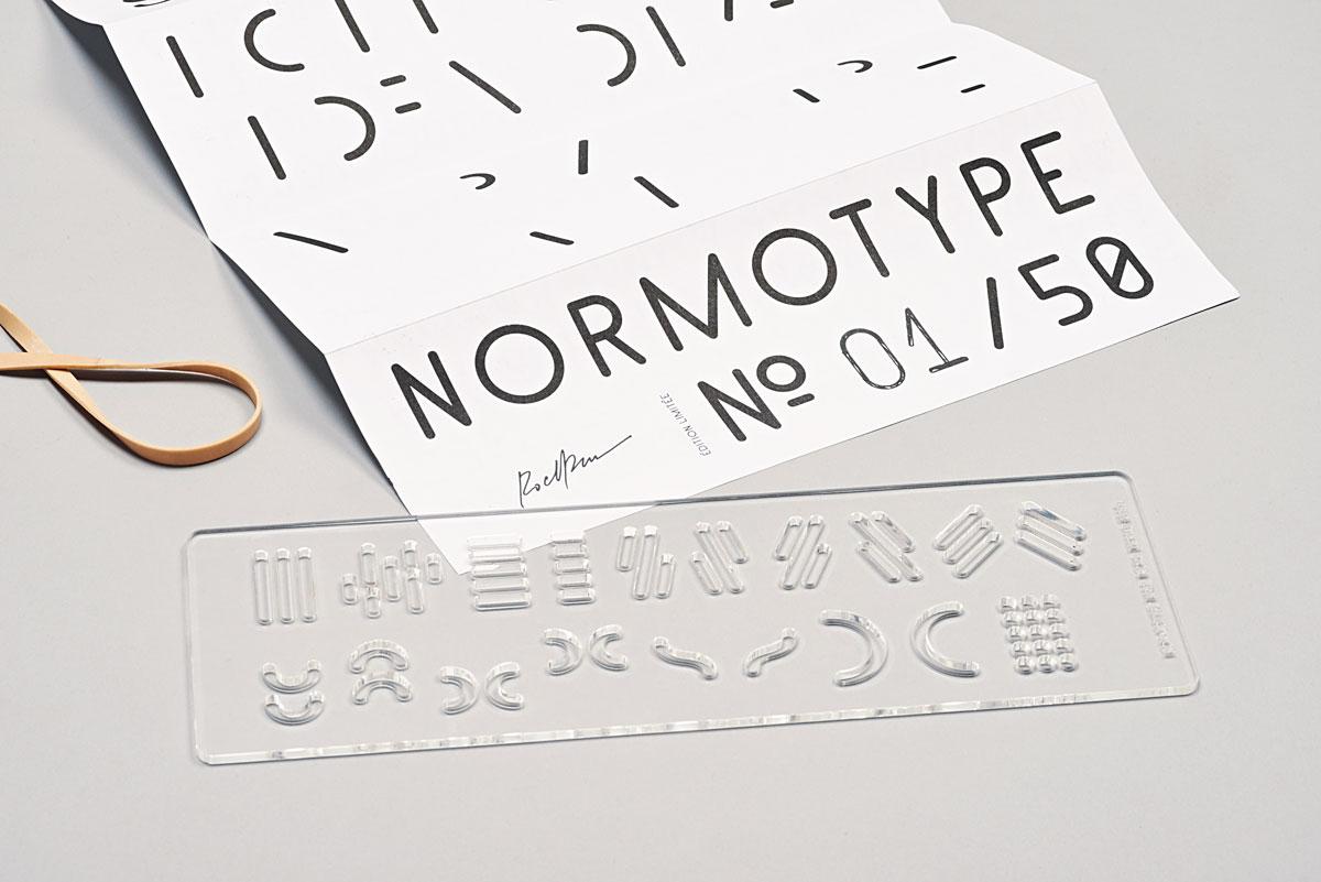 designeverywhere :      Normotype No.1