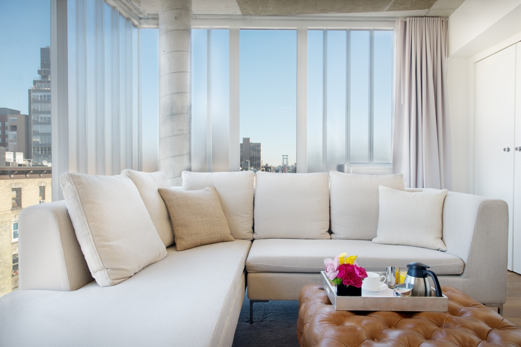 myidealhome :   living room in the  Nolitan hotel ,New York