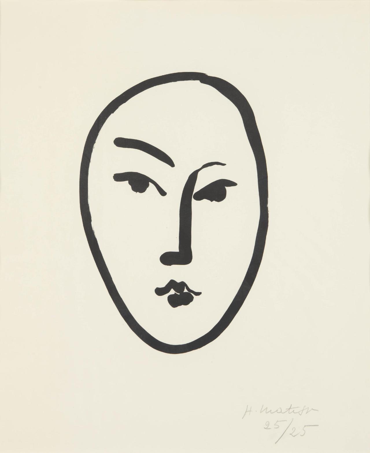 franklyesoteric :   Henri Matisse Print | 1951