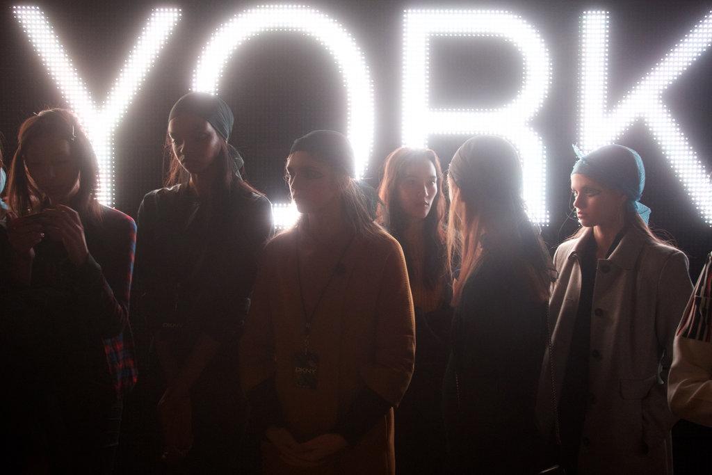 tmagazine :      Alfredo Piola    New York Fashion Week | DKNY F/W 2015    See more here