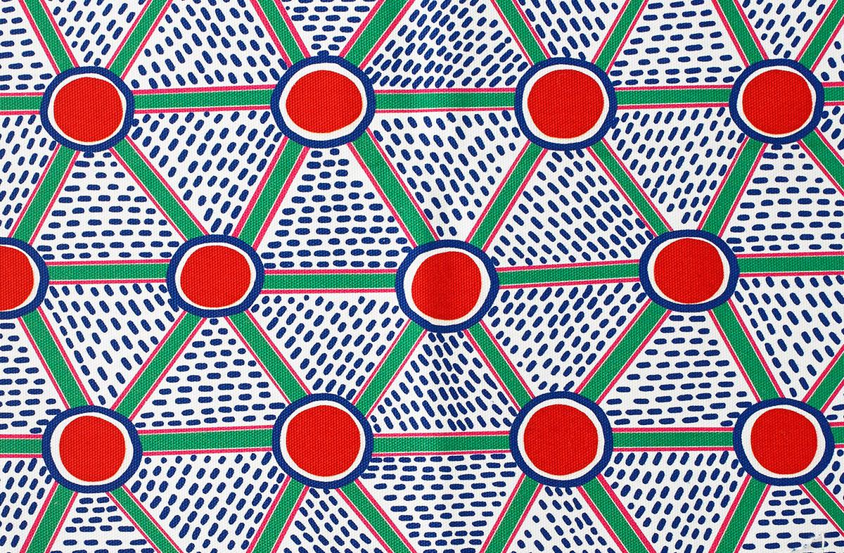 patternbase :      NATHALIE DU PASQUIER  X  HAY (source:  wmagazine.com )