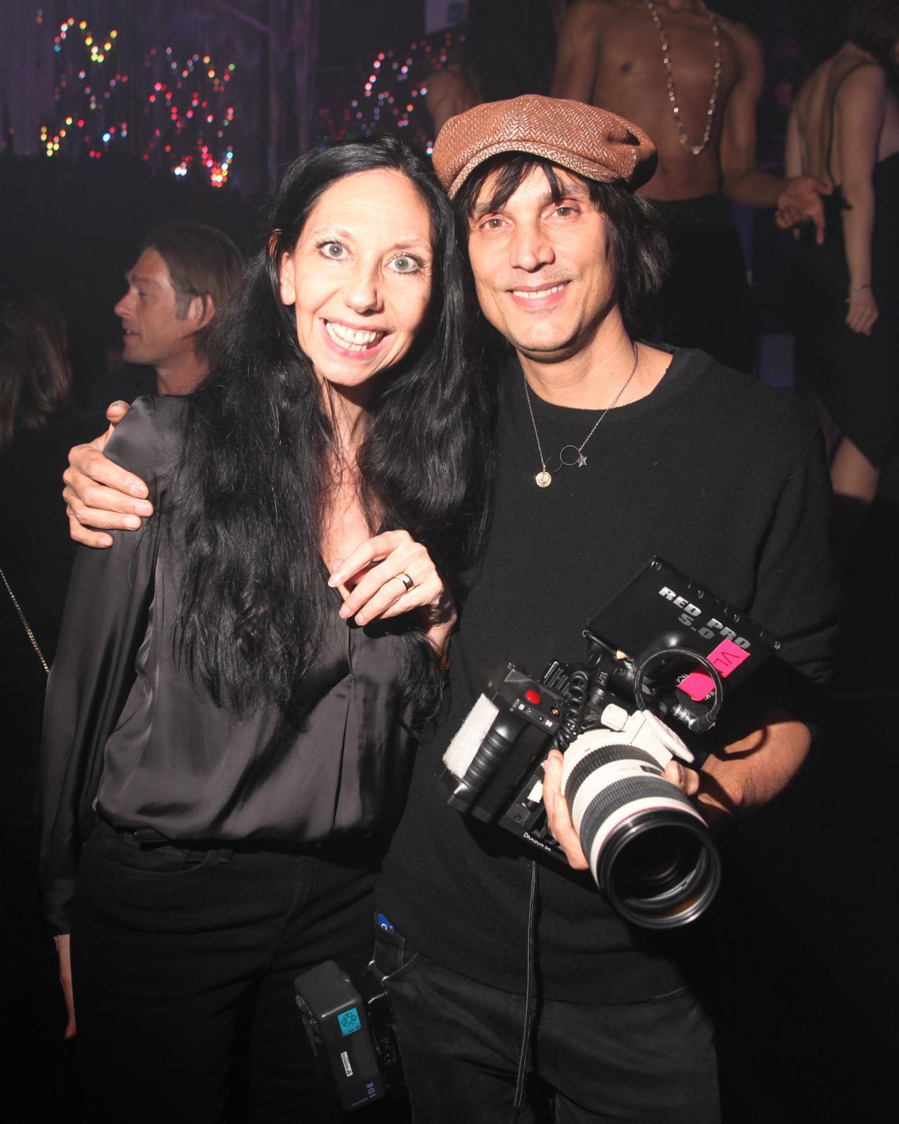 crfashionbook :      Inside Inez van Lamsweerde and Vinoodh Matadin's party with V Magazin e