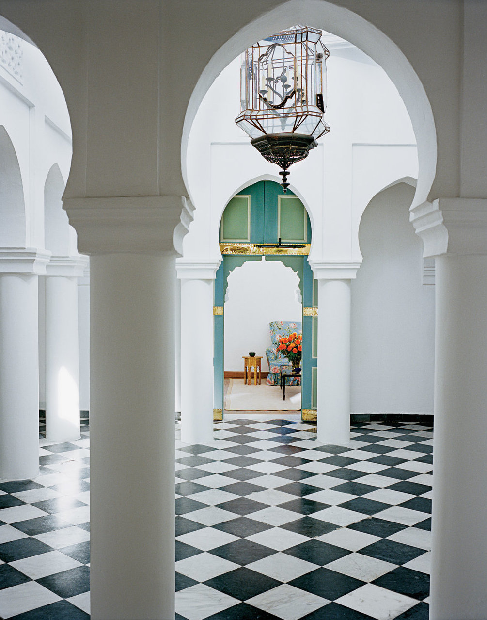 allthingsstylish :     YSL's Villa Mabrouka  , in Tangier, Morocco