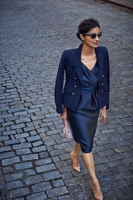 fortheloveofpretty :      gracespain :    Caroline Issa for Nordstrom via Vogue Magazine