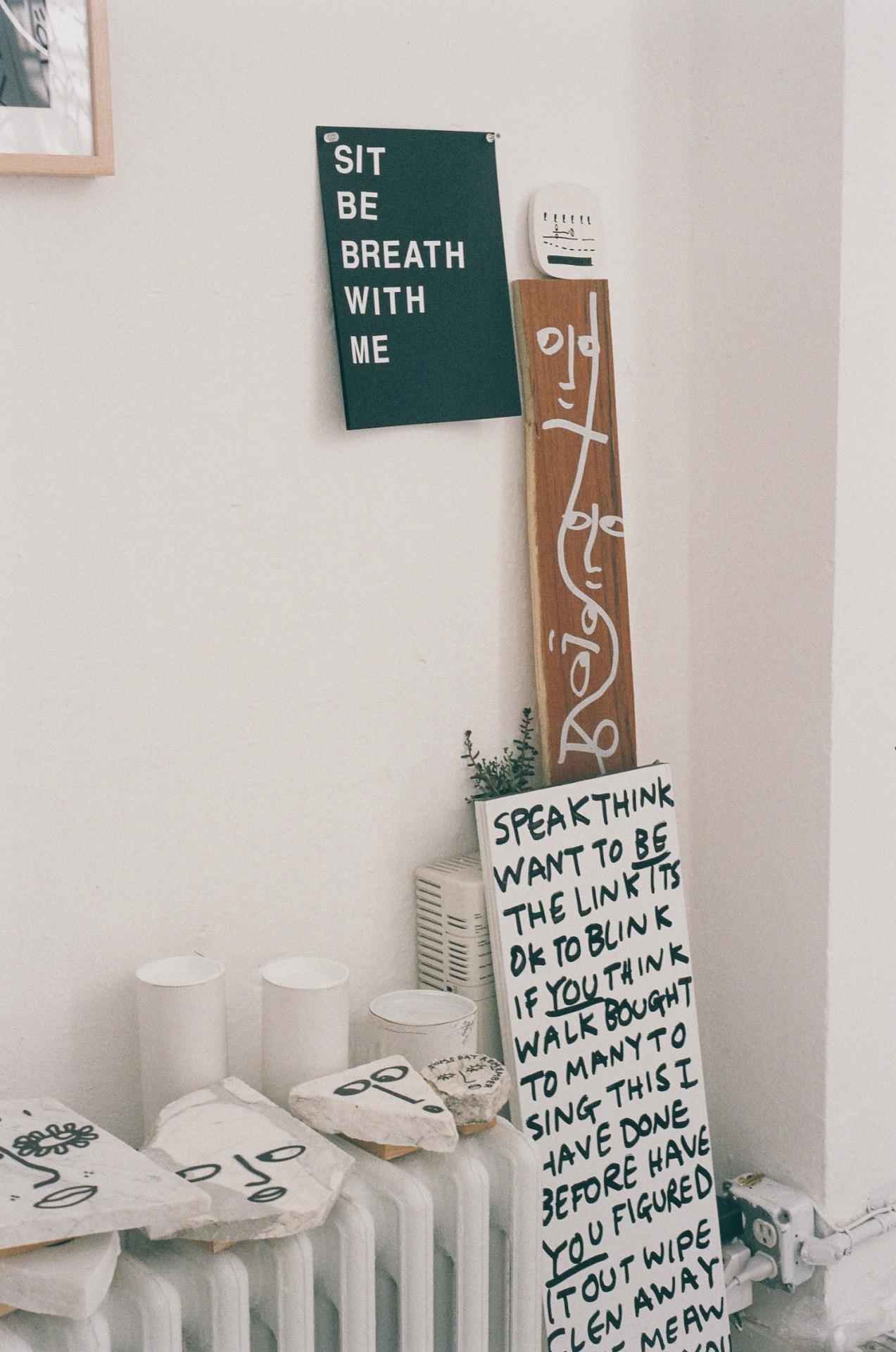 urbanoutfitters :     Shantell Martin's studio. (Photo by  Marisa Chafetz )