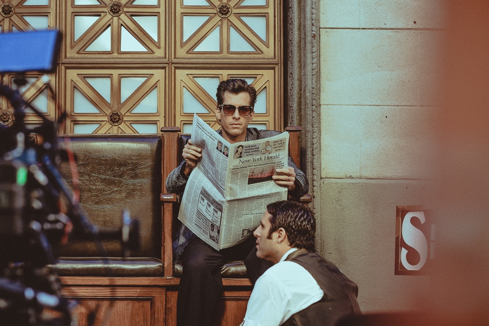 markronson :     Here's another still from the Uptown Funk video that I meant to post earlier.