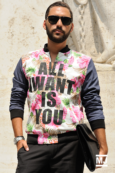 monsieurjerome :     #AllIWantIsYou #streetstyle   See more:http://bit.ly/1yZqAer