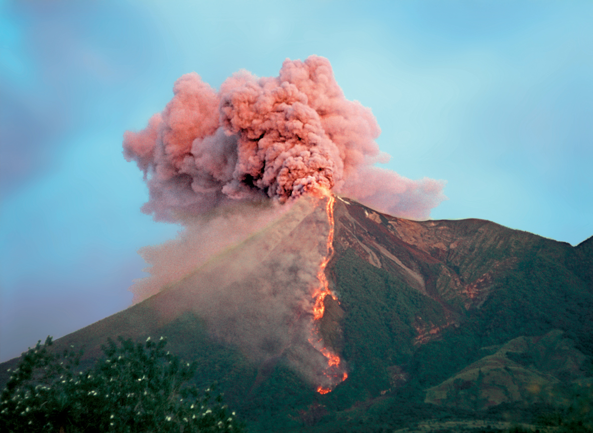 anothermag :     A pink volcano on  AnOther Loves .