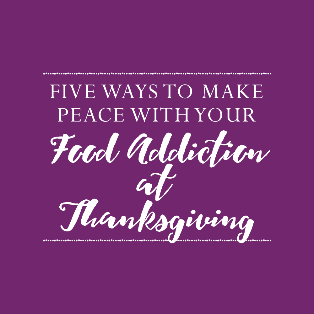 Feeling anxious about your food choices on Thanksgiving? I have a list that will help you make the best choices and feel at peace.