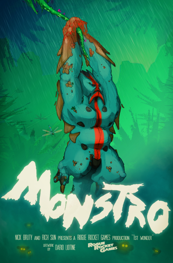 Dario Liotine's art submission for the First Wonder Art Contest