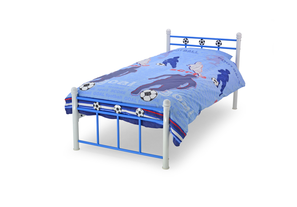 Soccer Bed A Neat Football Design Ideal For All Budding Beckhams Other Colours Available 3 Single GBP12999 Excluding Mattress