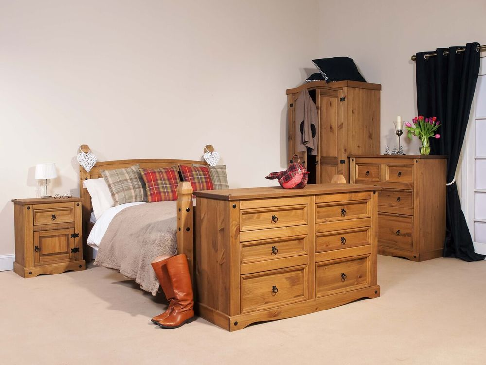Premium Pine Rustic And Robust Furniture. Delivered Fully Assembled For Use  Throughout Your Home.