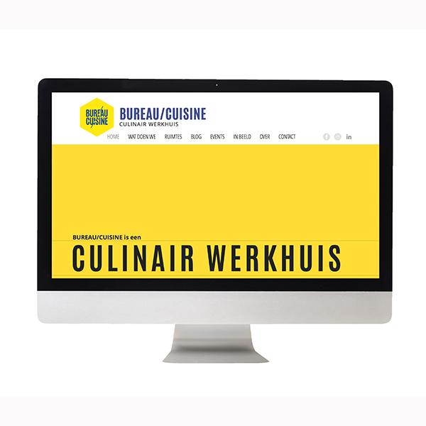 EEN OPGEFRISTE WEBSITE VOOR BUREAU/CUISINE