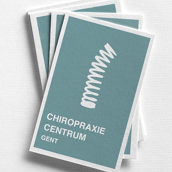 logo en huissstijl voor chiropraxiecentrum luc ailliet