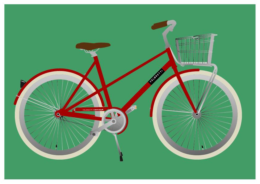 veloretti bike vector Melanie velghe illyvanilly