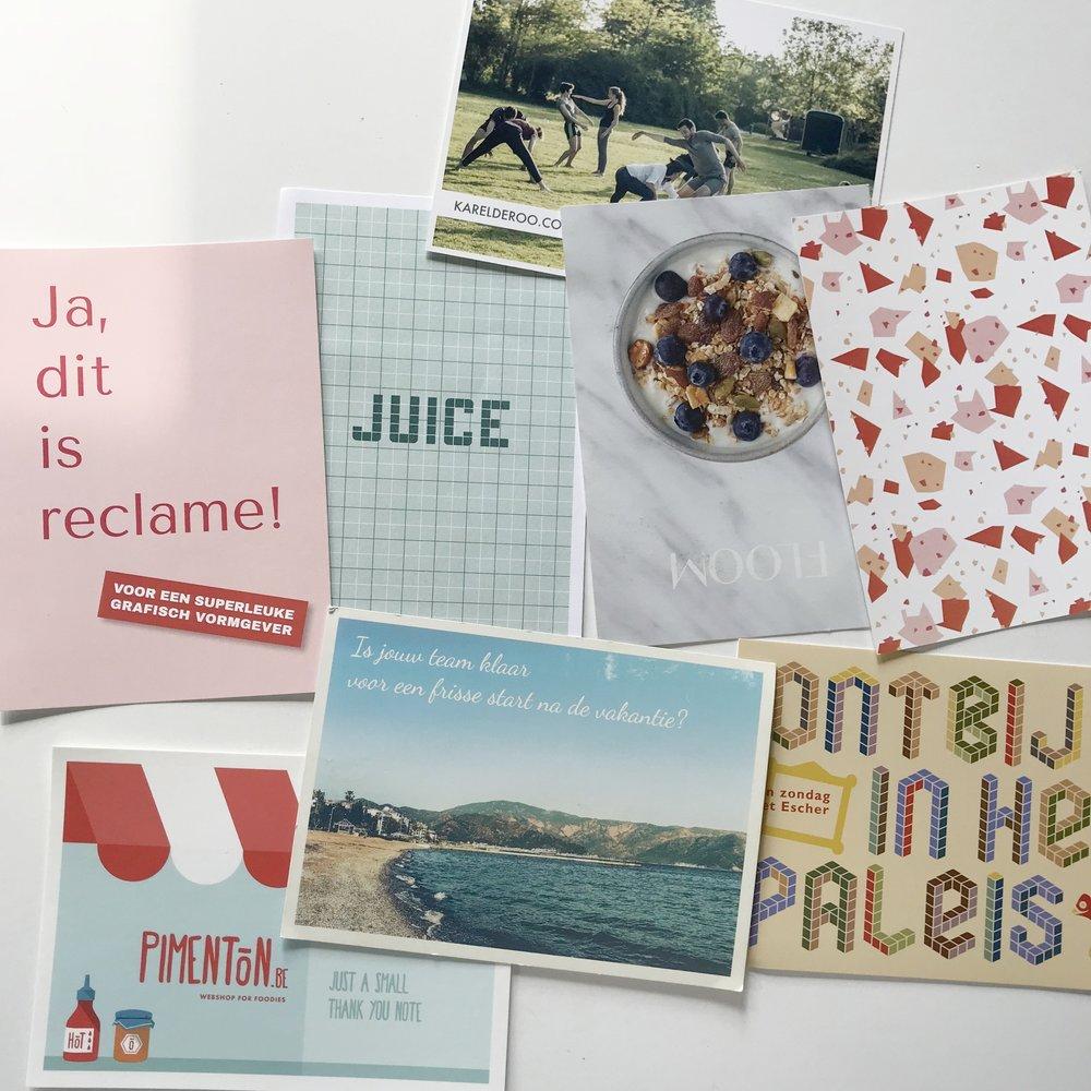 postkaarten illyvanilly melanie velghe