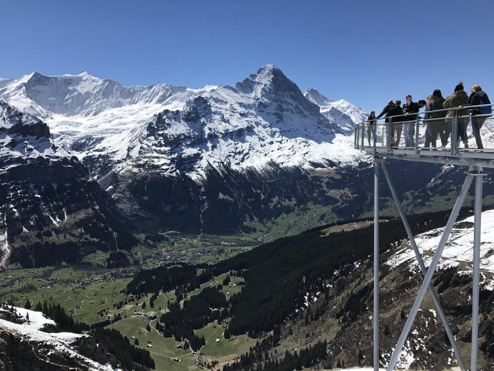 Visiting Grindelwald