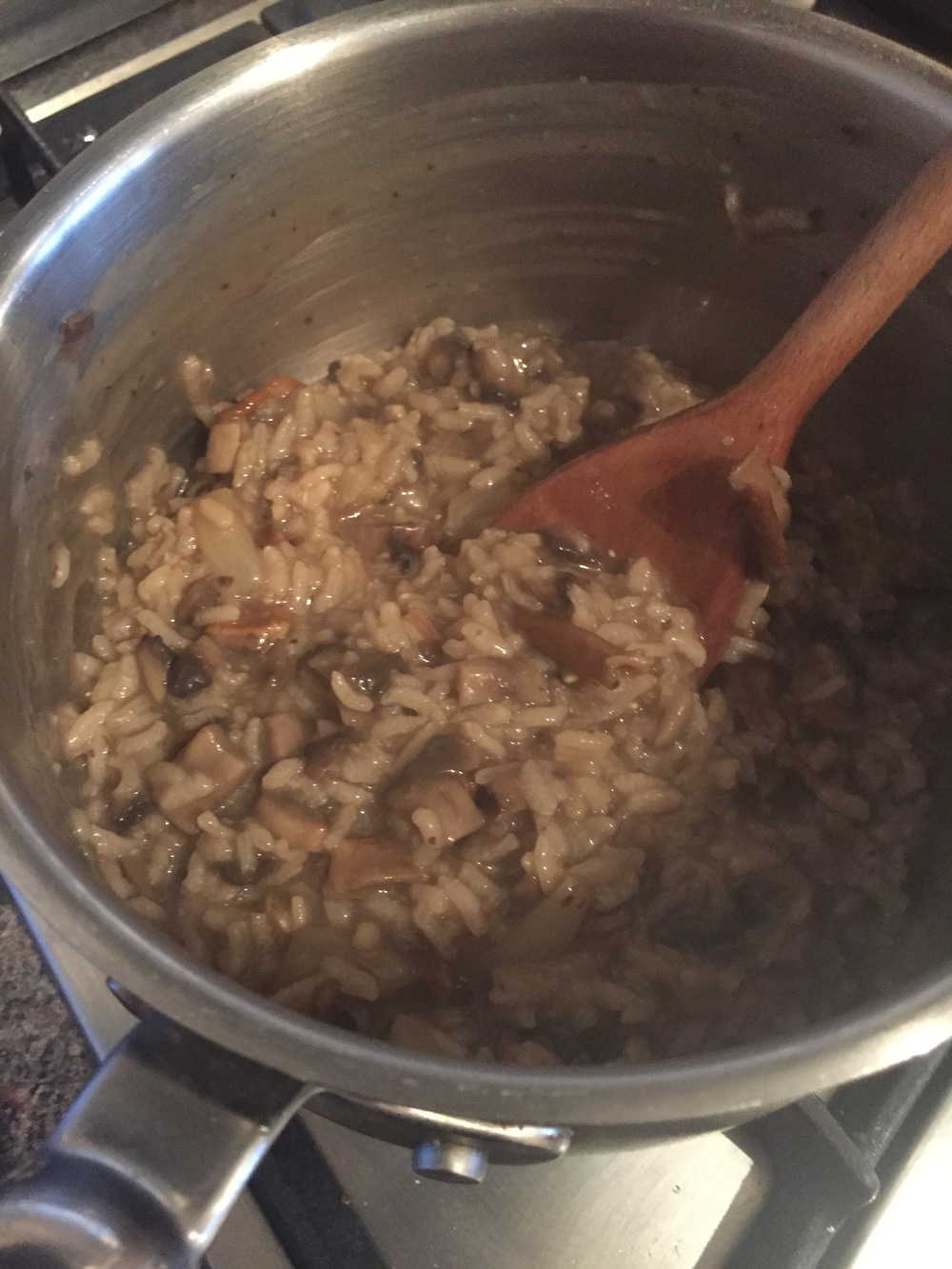 The Tiniest Thai Rachel Walder mushroom risotto