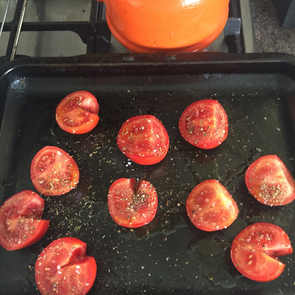 Rachel Walder The Tiniest Thai roast tomatoes with oregano