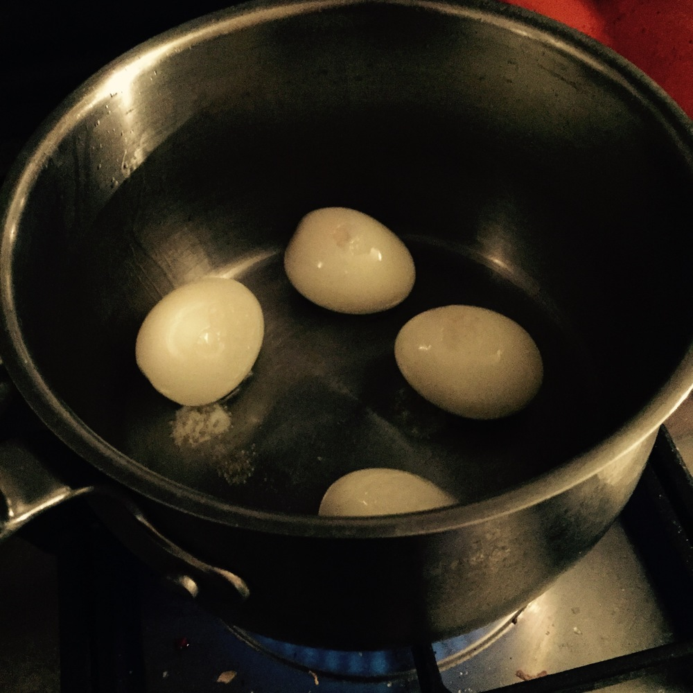 Rache Redlaw eggs in coconut masala