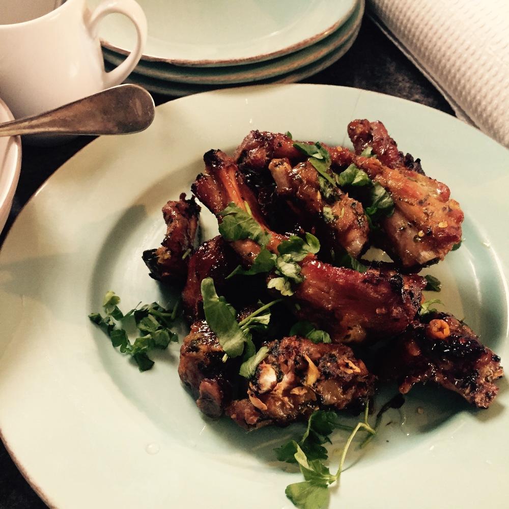 Rachel Redlaw Thai-style pork ribs