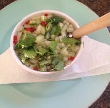 Rachel Redlaw cucumber dipping sauce