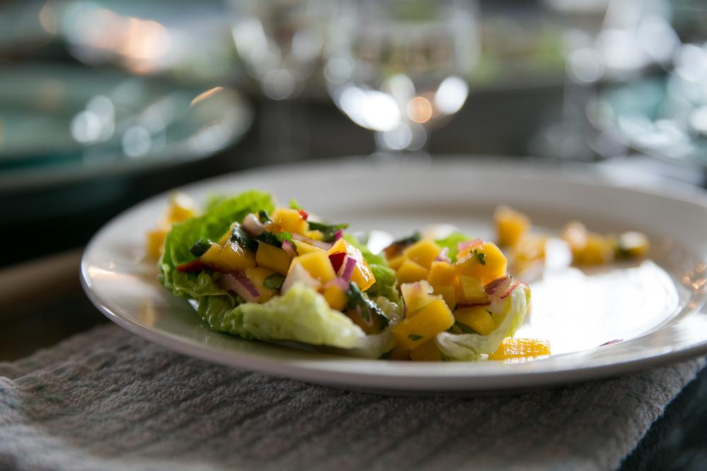 Rachel Redlaw mango salad