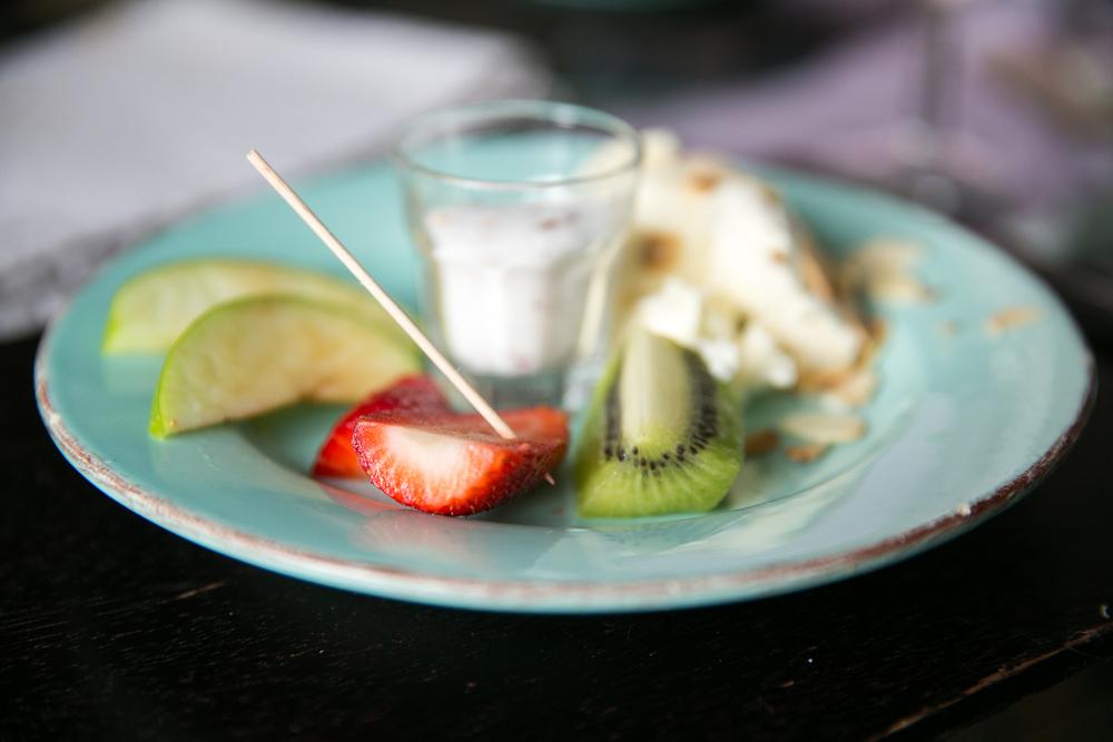 Rachel Redlaw The Tiniest thai fruit Thai salt sugar chilli dip