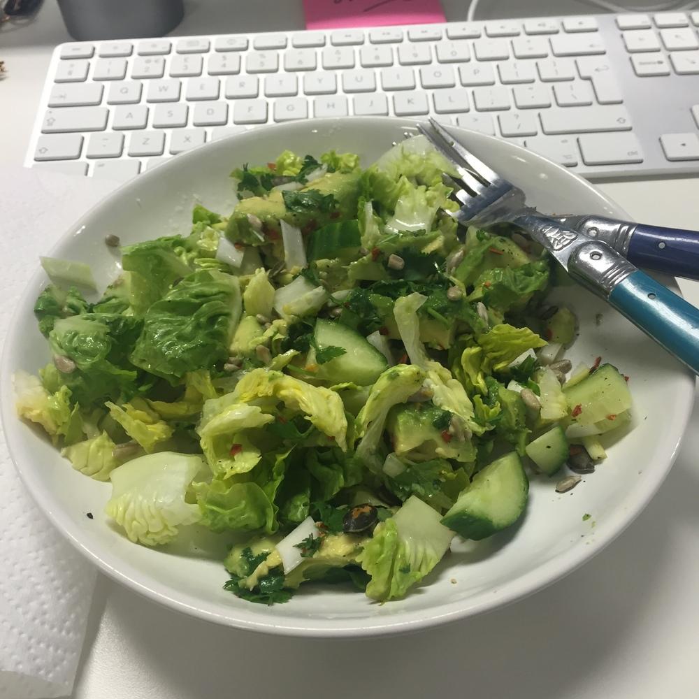 Rachel Redlaw The Tiniest Thai avocado salad