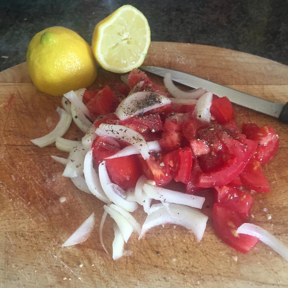 Rachel Redlaw tapas chorizo salad