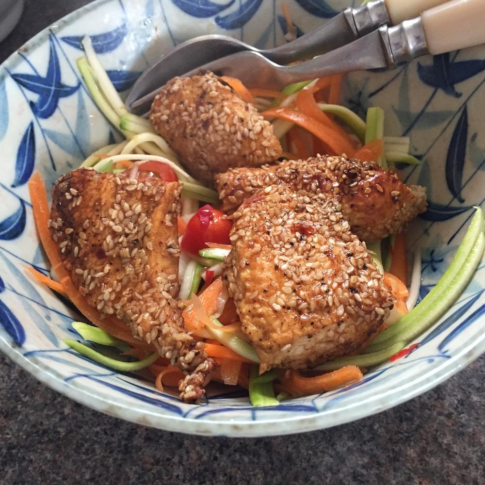 Rachel Redlaw sesame chicken