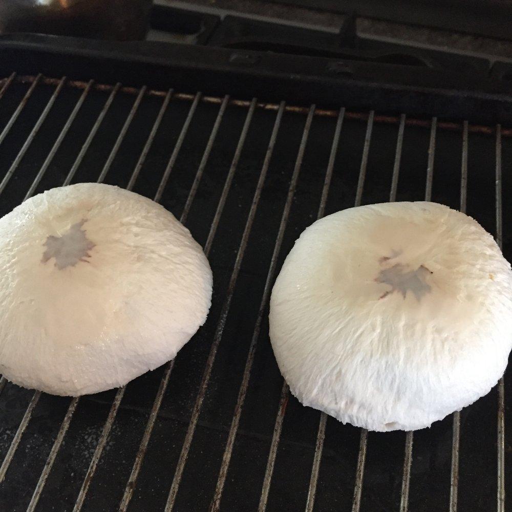 Rachel Redlaw asian grilled mushrooms