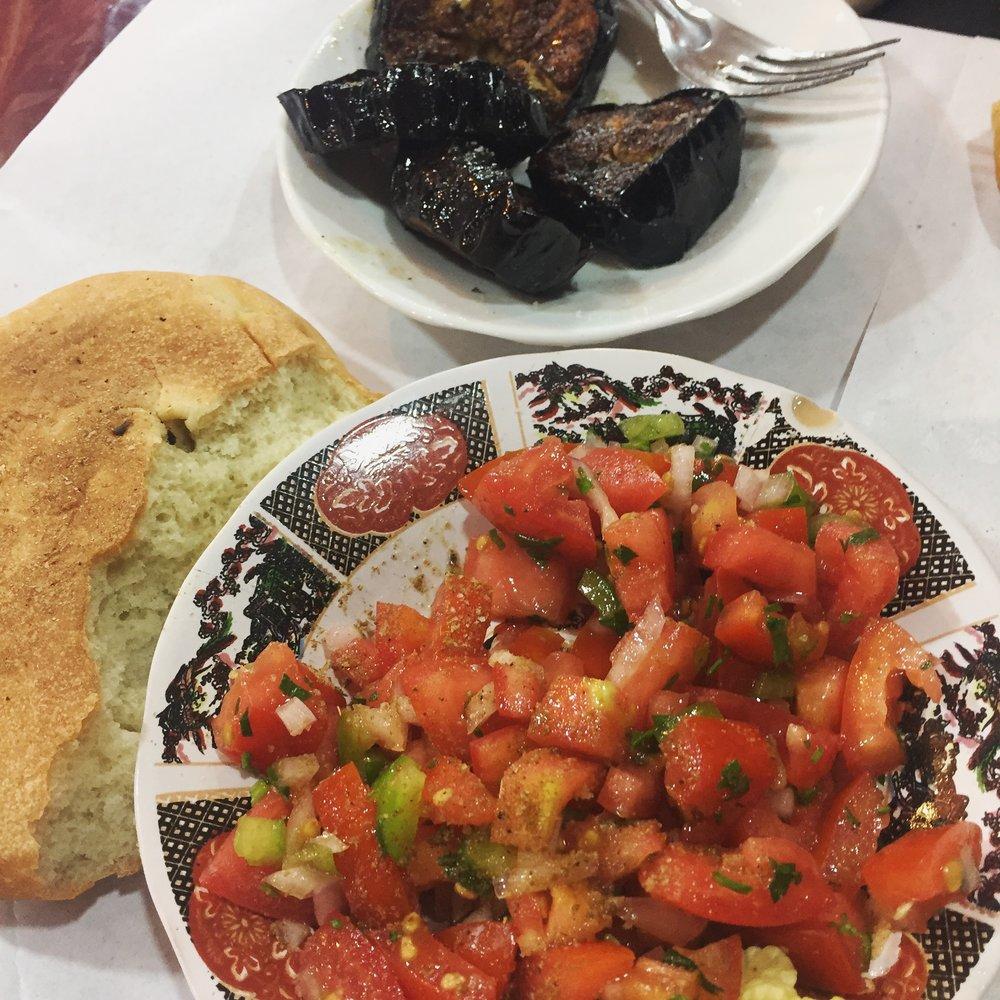 Rachel Redlaw Moroccan salad
