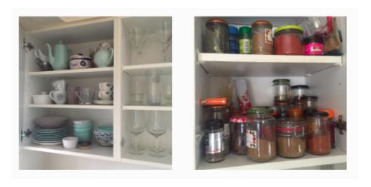 Rachel Redlaw kitchen decluttering
