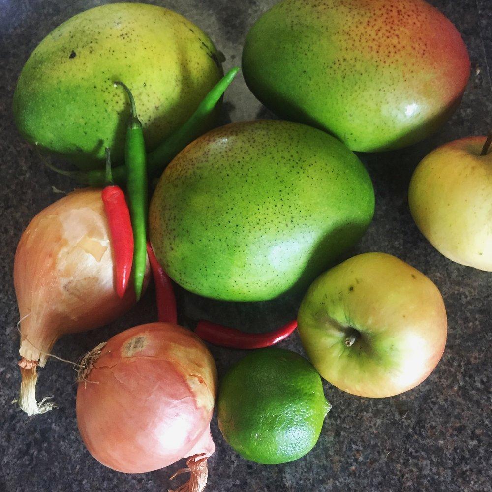 Rachel Redlaw mango chutney