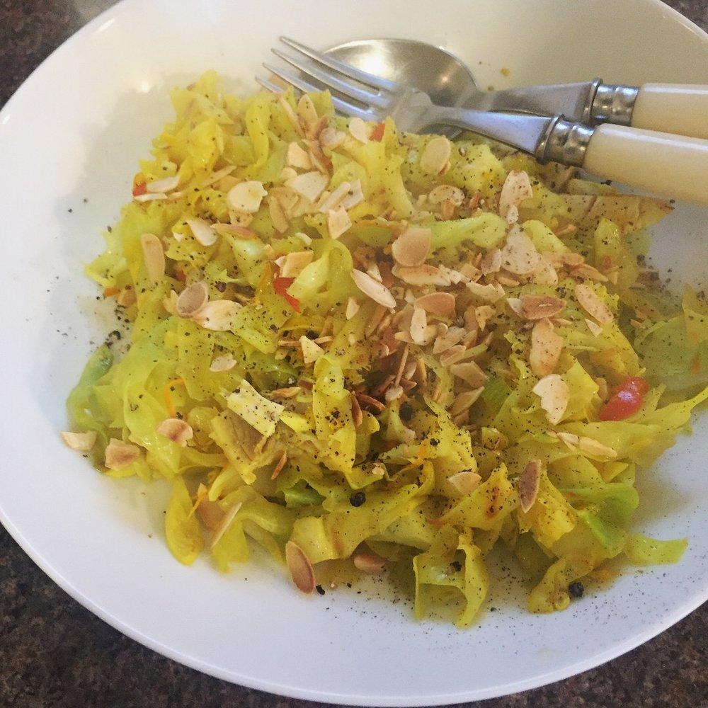 Rachel Redlaw Burmese cabbage