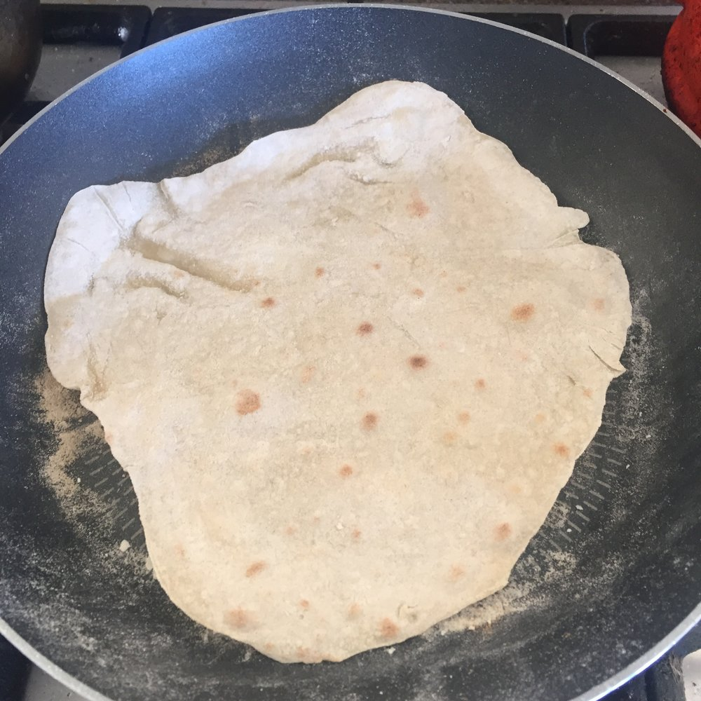 Rachel Redlaw homemade tortilla wraps