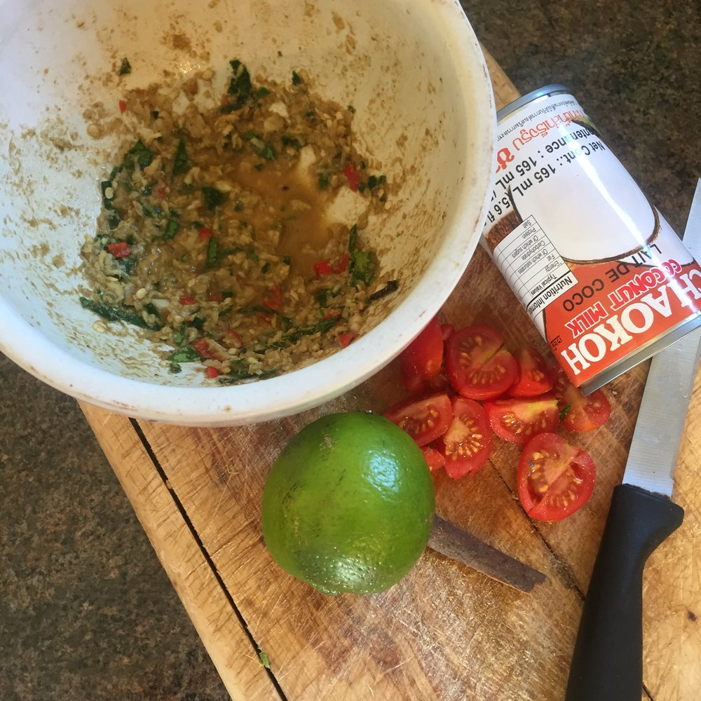 Rachel Redlaw chilli lime coconut chicken