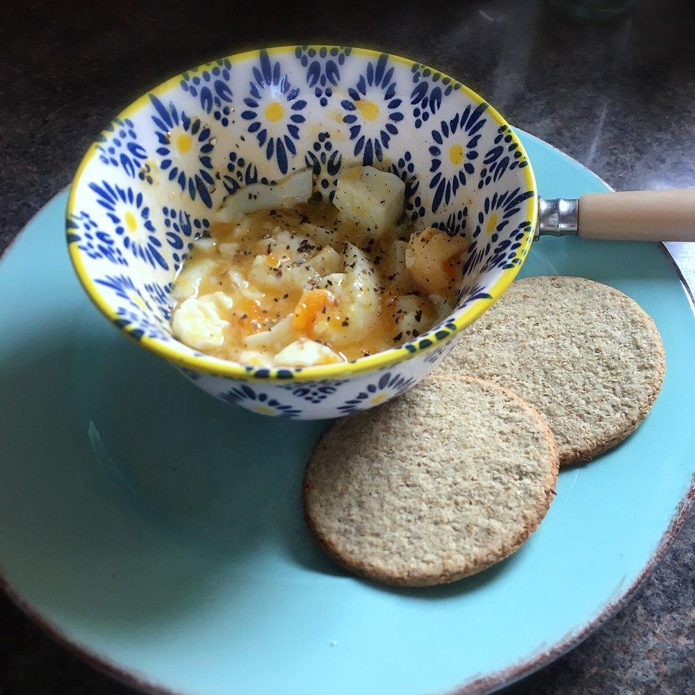 Rachel Redlaw chucky eggs