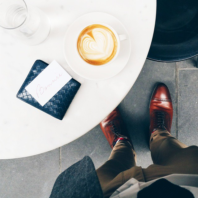 Look sharp. Live smart @bonniecoffeeco . Humpday Coffee
