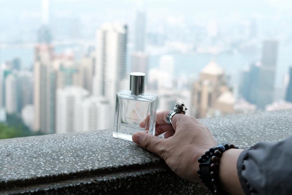 """Cathay Pacific """"Parfums de Voyage"""" Mr Gumbatron"""